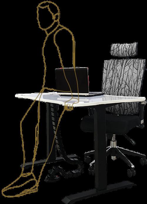 Стол и кресло