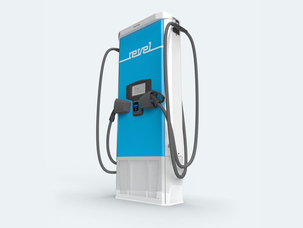 Revel electric car super charger