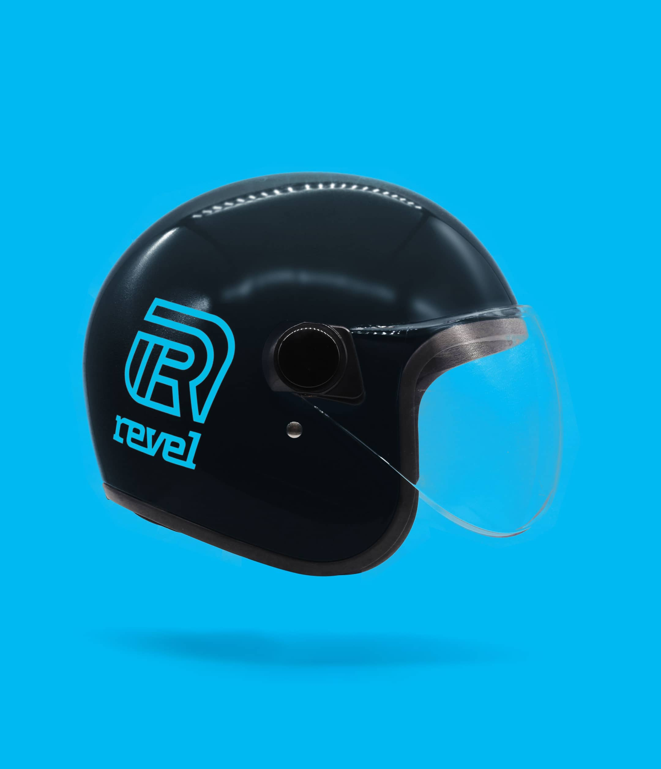 phone of a revel helmet