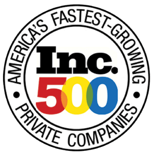 Inc 500 Fastest Growing Private Companies Award