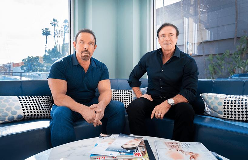 Founders of Beverly Hills Rejuvenation Center Dan Holtz & Devin Haman