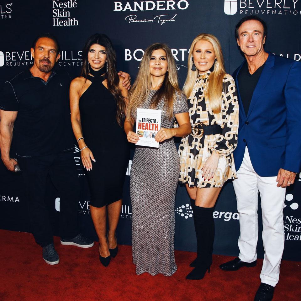 Dan Holtz - Devin Haman - Gretchen Rossi Celebrate a Beverly Hills Rejuvenation Center Opening