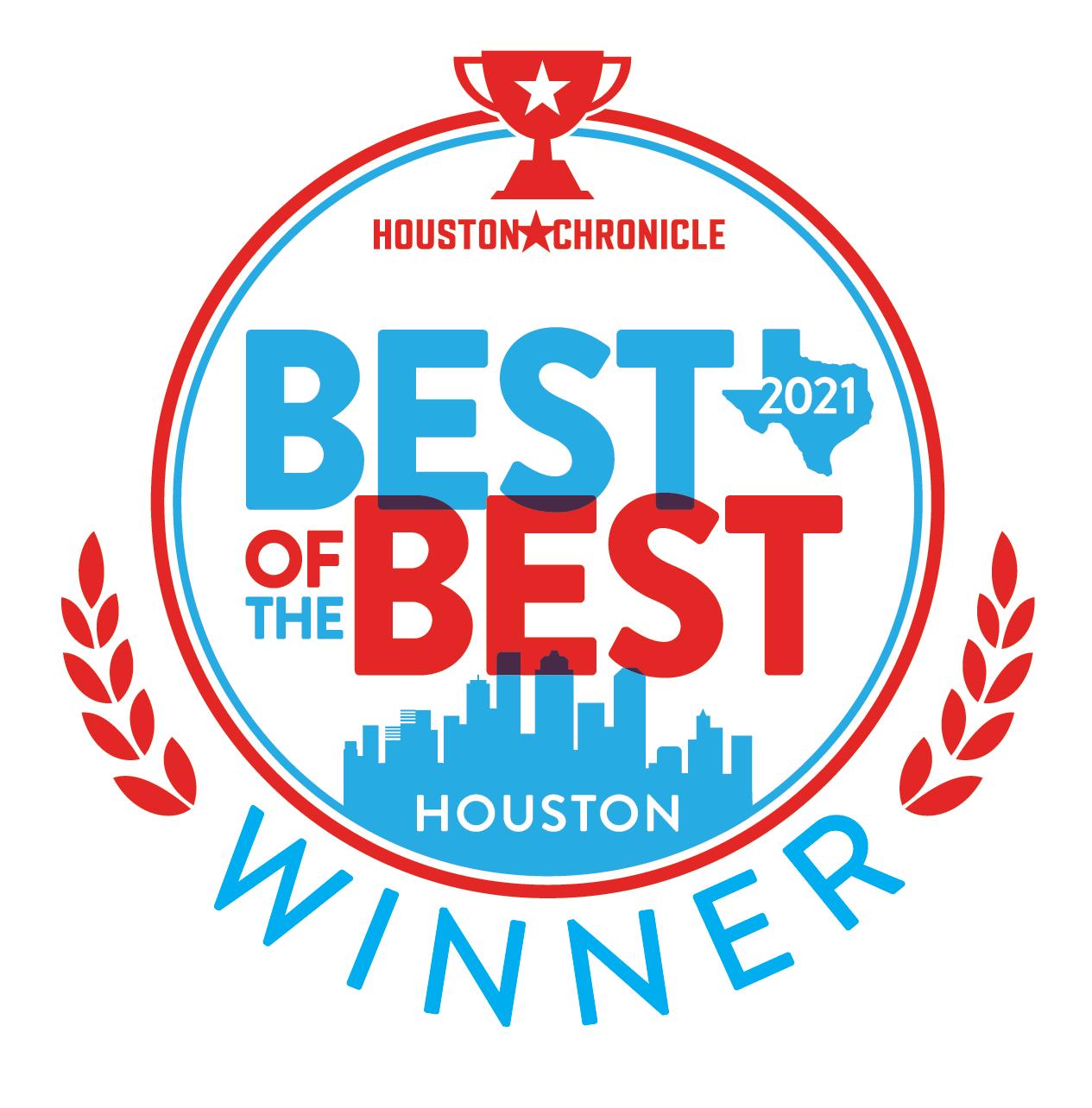 Best of the Best Houston 2021 Award