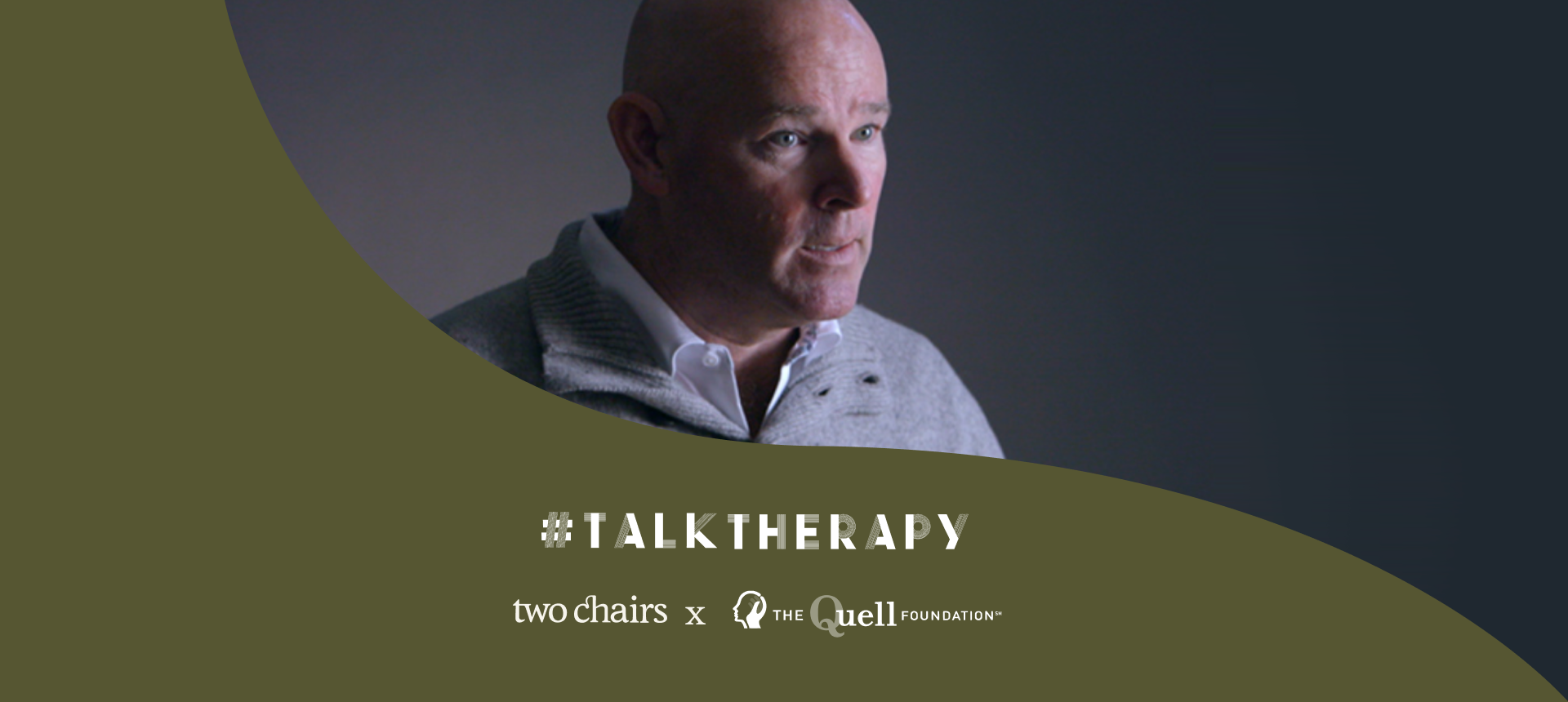 #TalkTherapy with Kevin Lynch, President of The Quell Foundation
