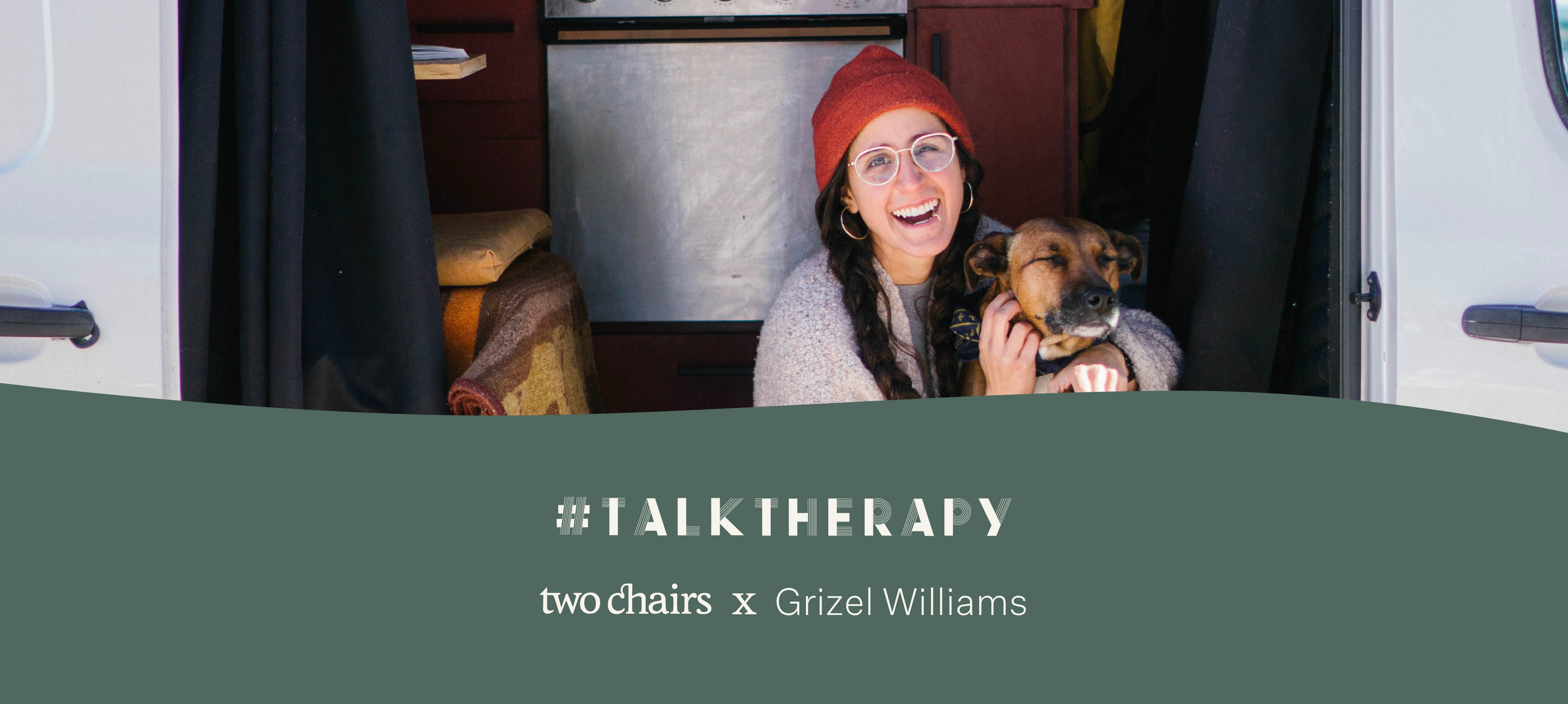 #TalkTherapy with Grizel Williams, Latinx Backpacker