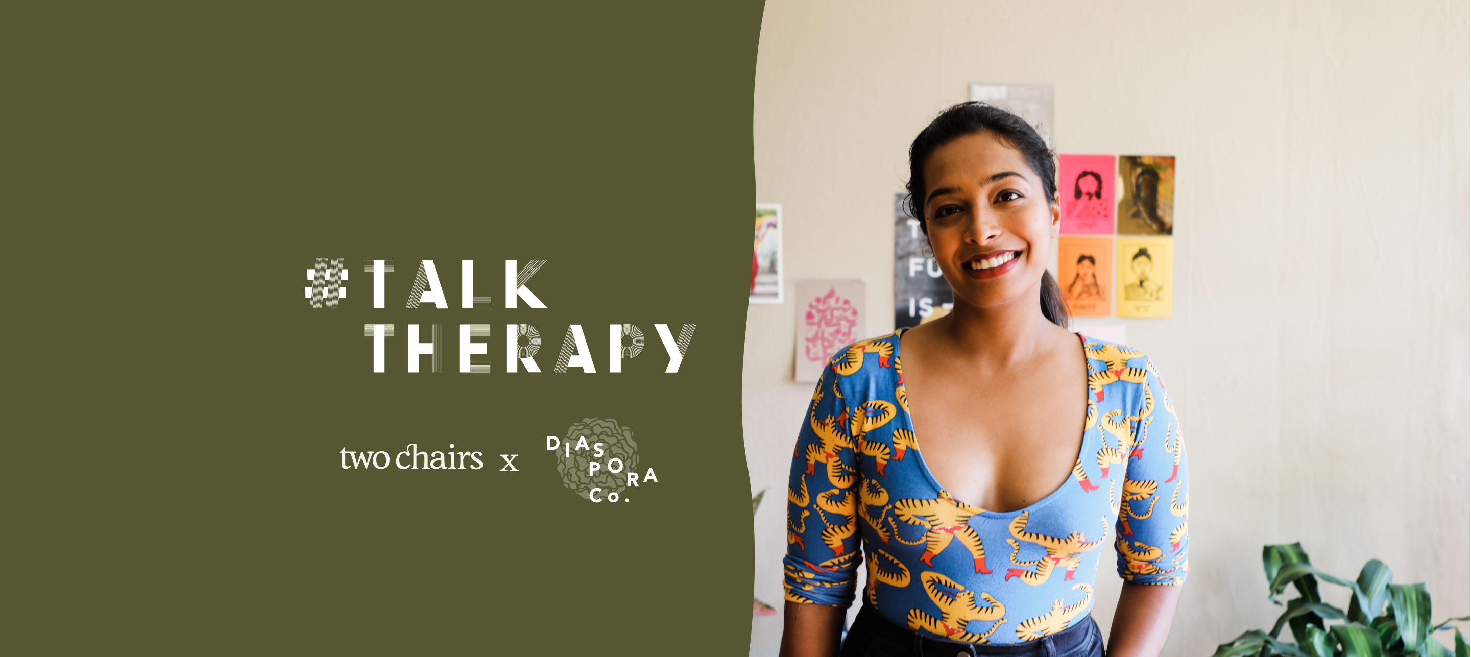 #TalkTherapy with Sana Javeri Kadri, Founder of Diaspora Co.