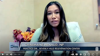 youtube screenshot of Charmaine on the Drs tv show