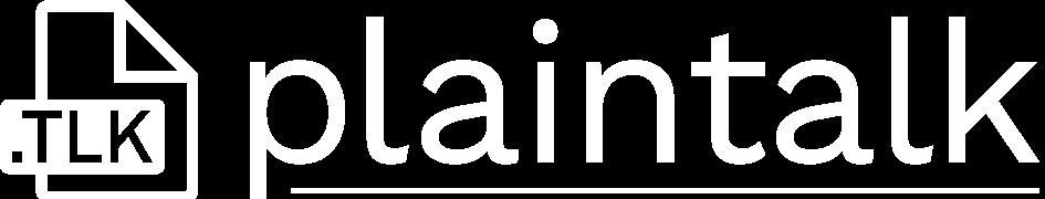 Plaintalk logo