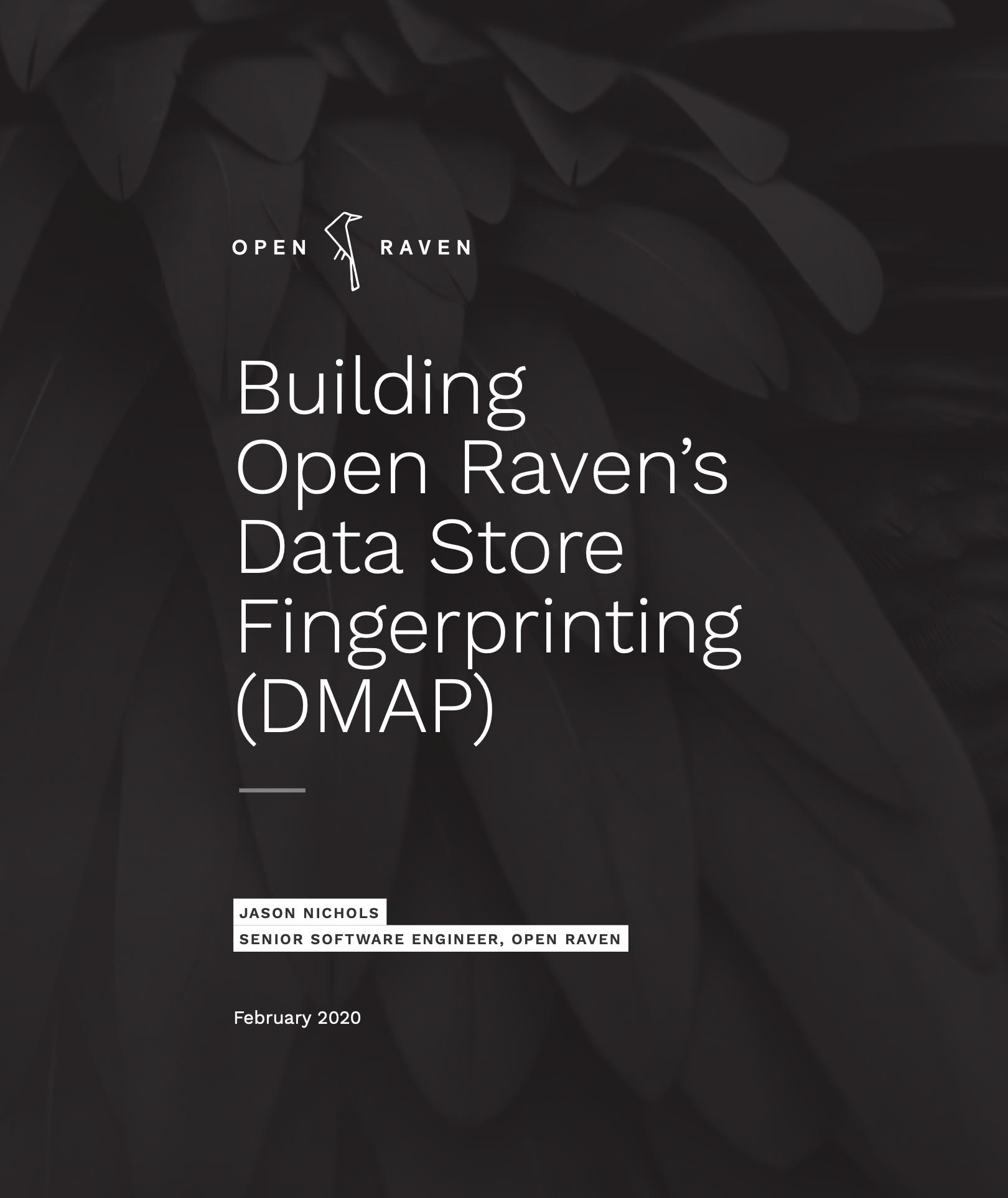 Building Open Raven's Data Store Fingerprinting (DMAP) cover