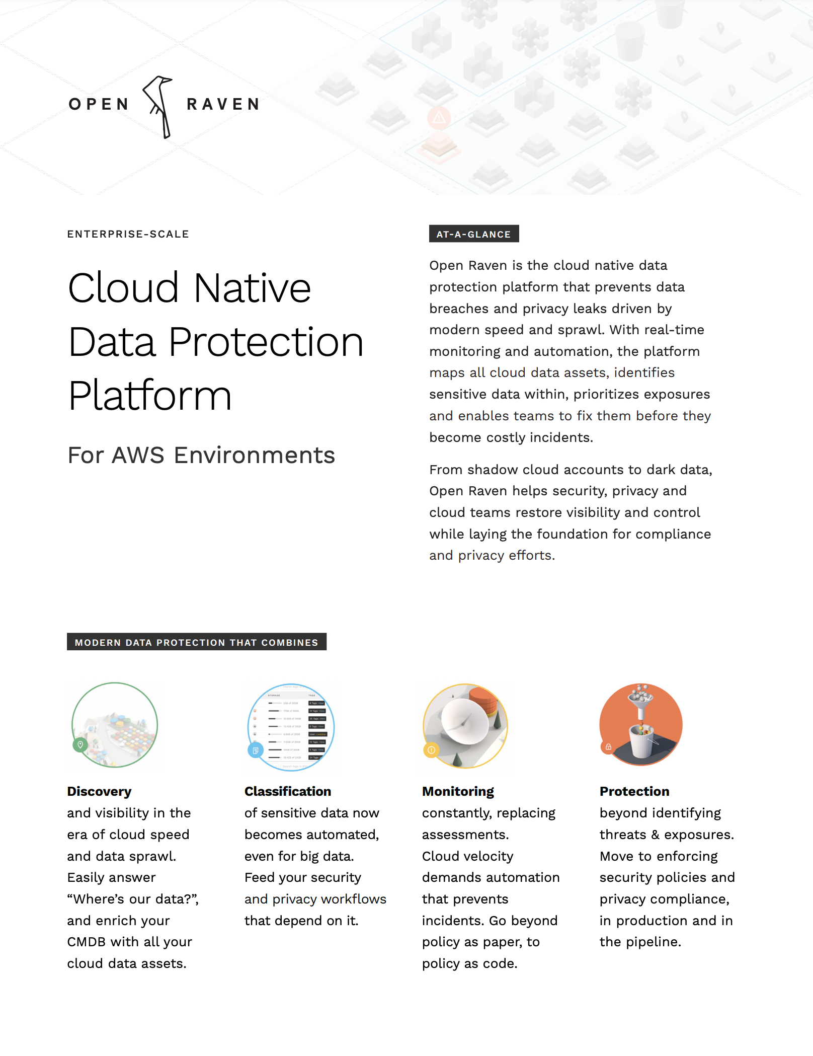 Cloud Native Data Protection Platform cover page