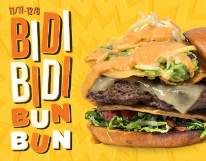 Hopdoddy Bidi Bidi Bun Bun burger