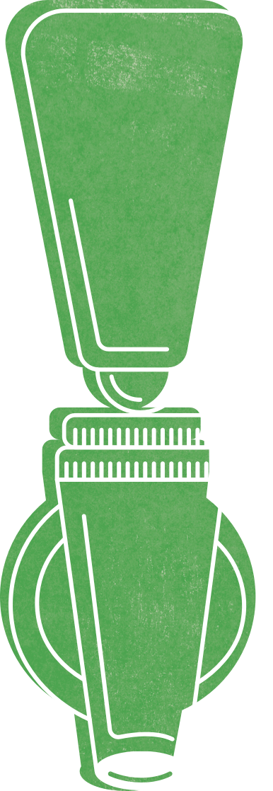Hopdoddy green tap icon