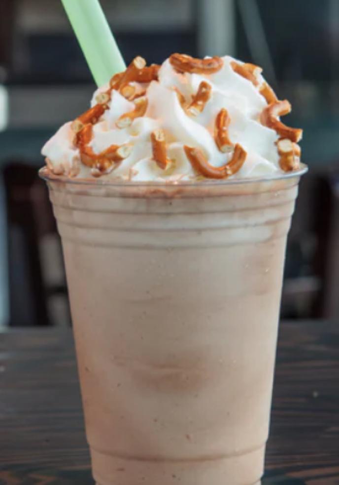 Hopdoddy Nutella Chocolate Pretzel Shake