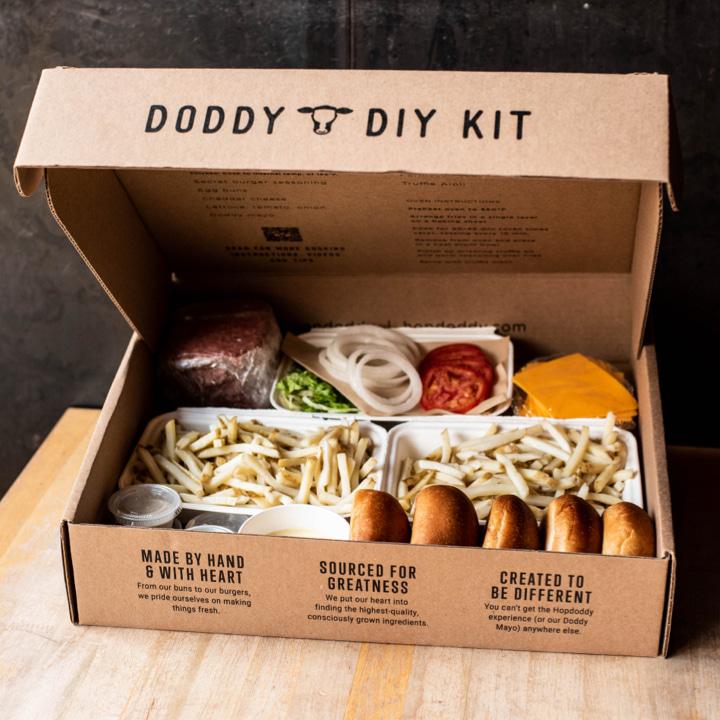 Doddy DIY kit and ingredients.