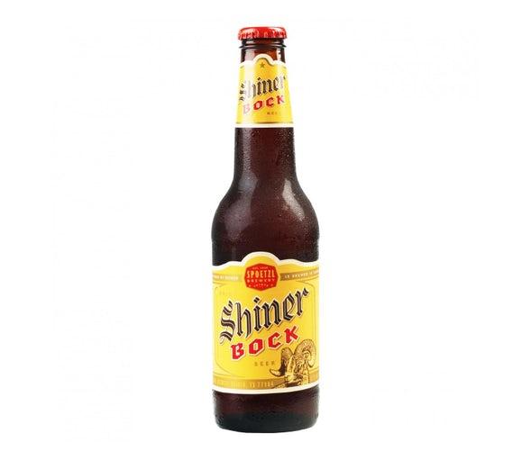 Shiner Bock beer.
