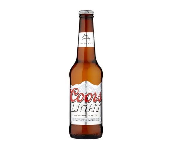 Coors Light beer.