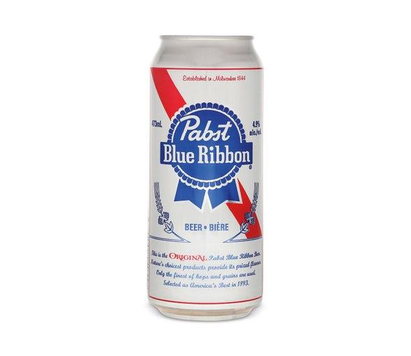 PBR beer.