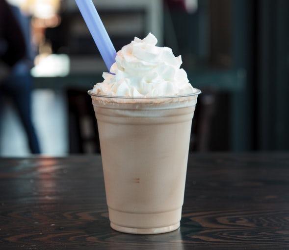 Chocolate shake.
