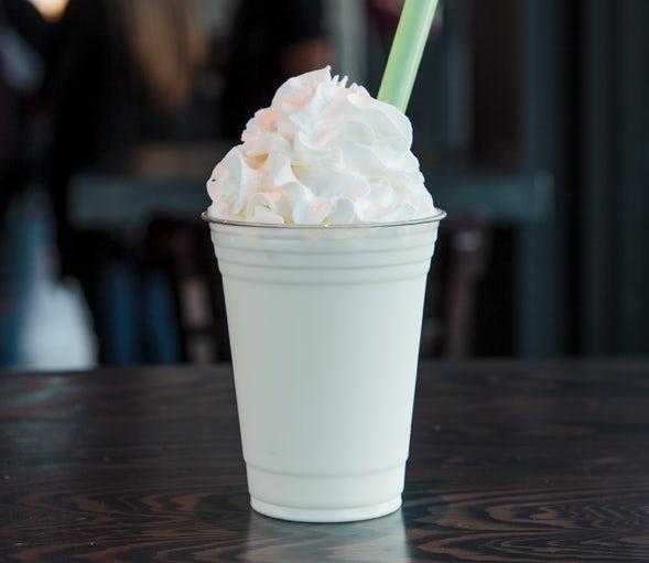 Vanilla shake.