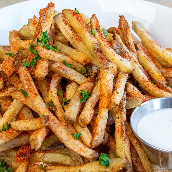 BBQ ranch fries.