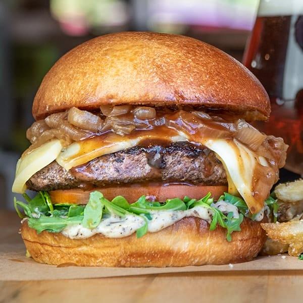 Big Chuck burger.