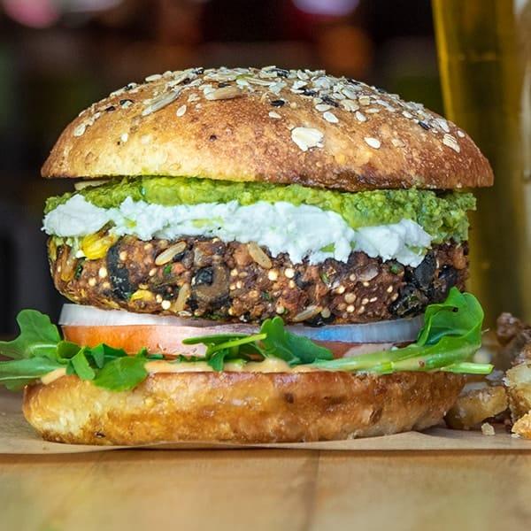 El Bandito burger.