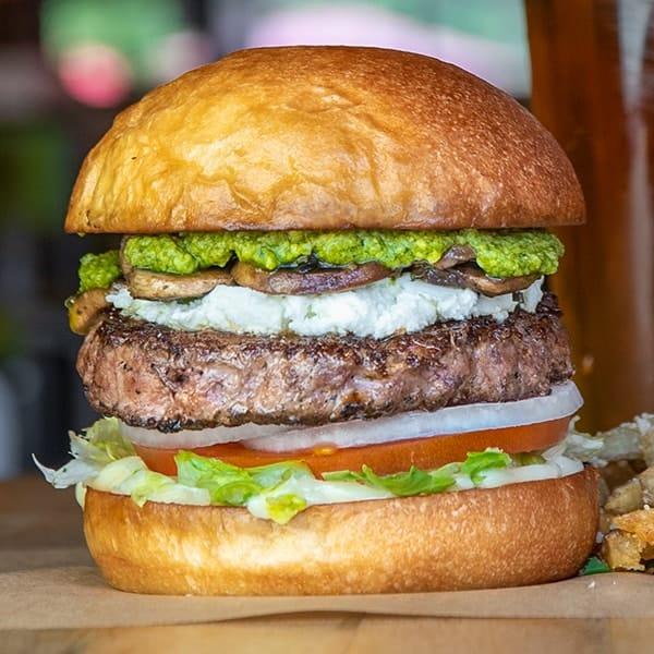 Magic Shroom burger.