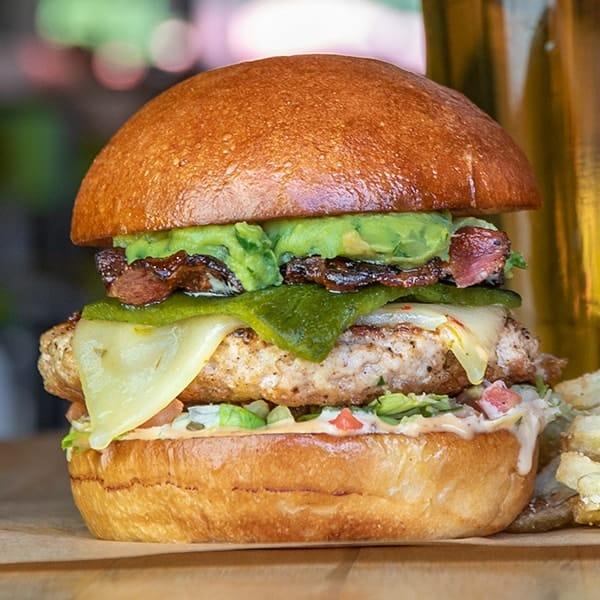 Thunderbird burger.