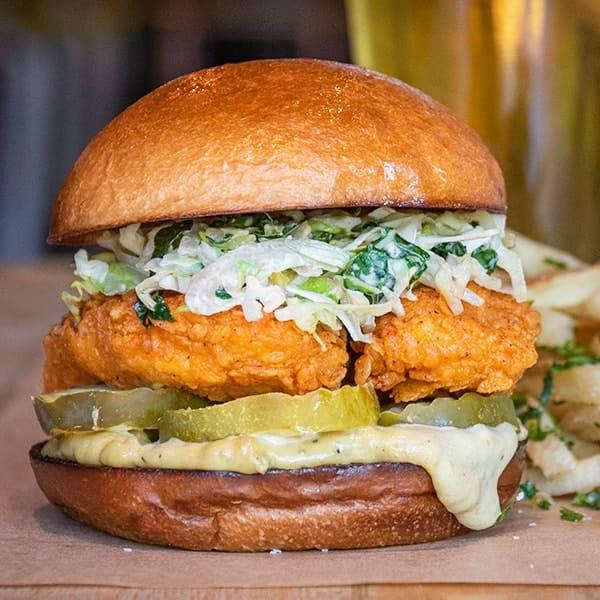 Nashville Hot Chicken sandwich.