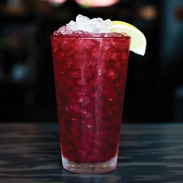 Cherry limeade drink.