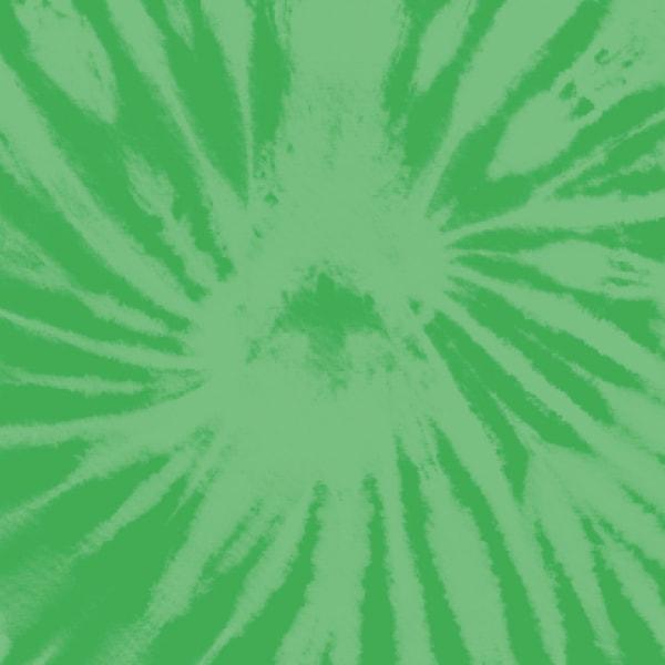 Green tie-dye square.