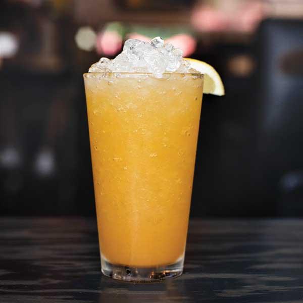 Deep Eddy Lemon Vodka, peach Puree, simple syrup, lemon juice