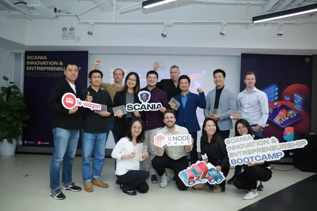 XNode teamed up with Le Wagon and co-created a 5-day Scania Innovation & Entrepreneurship Bootcamp