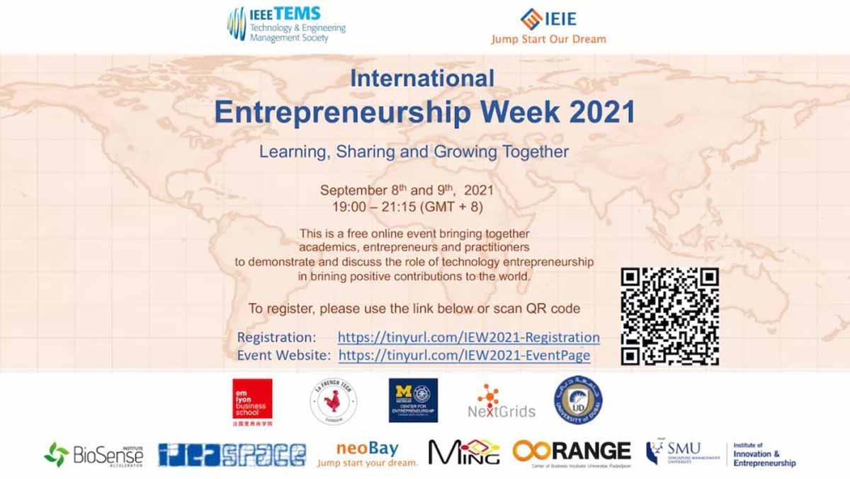 International Entrepreneurship Week 2021
