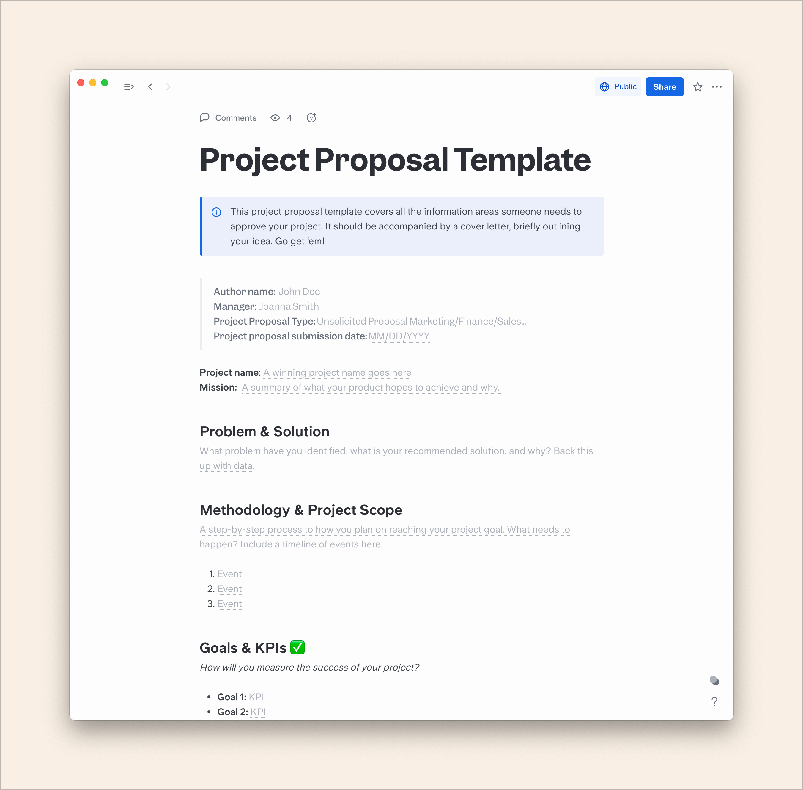 How to Write a Project Proposal Step by Step [+ Free Template]