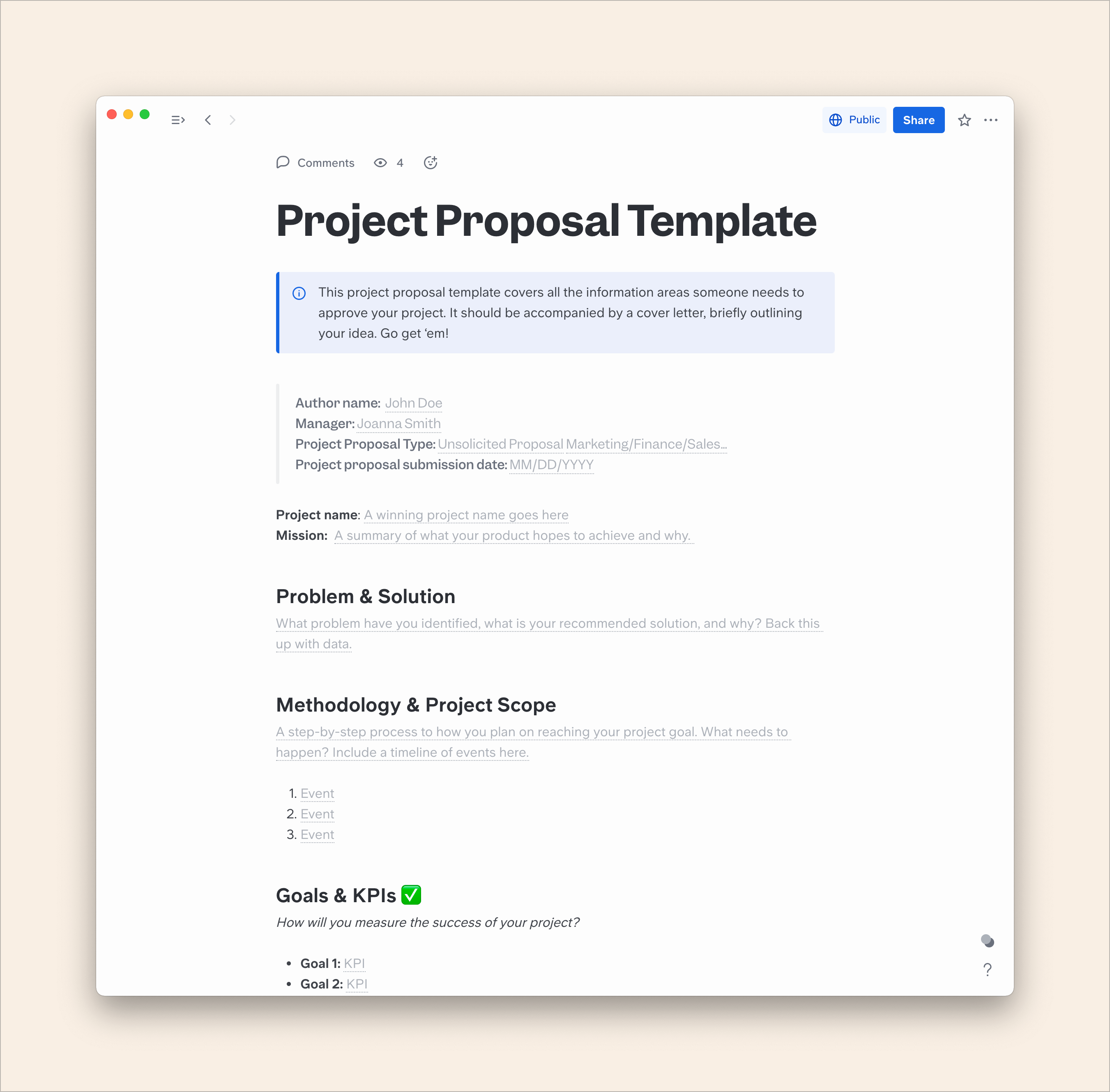 How to Write a Perfect Project Proposal in 9