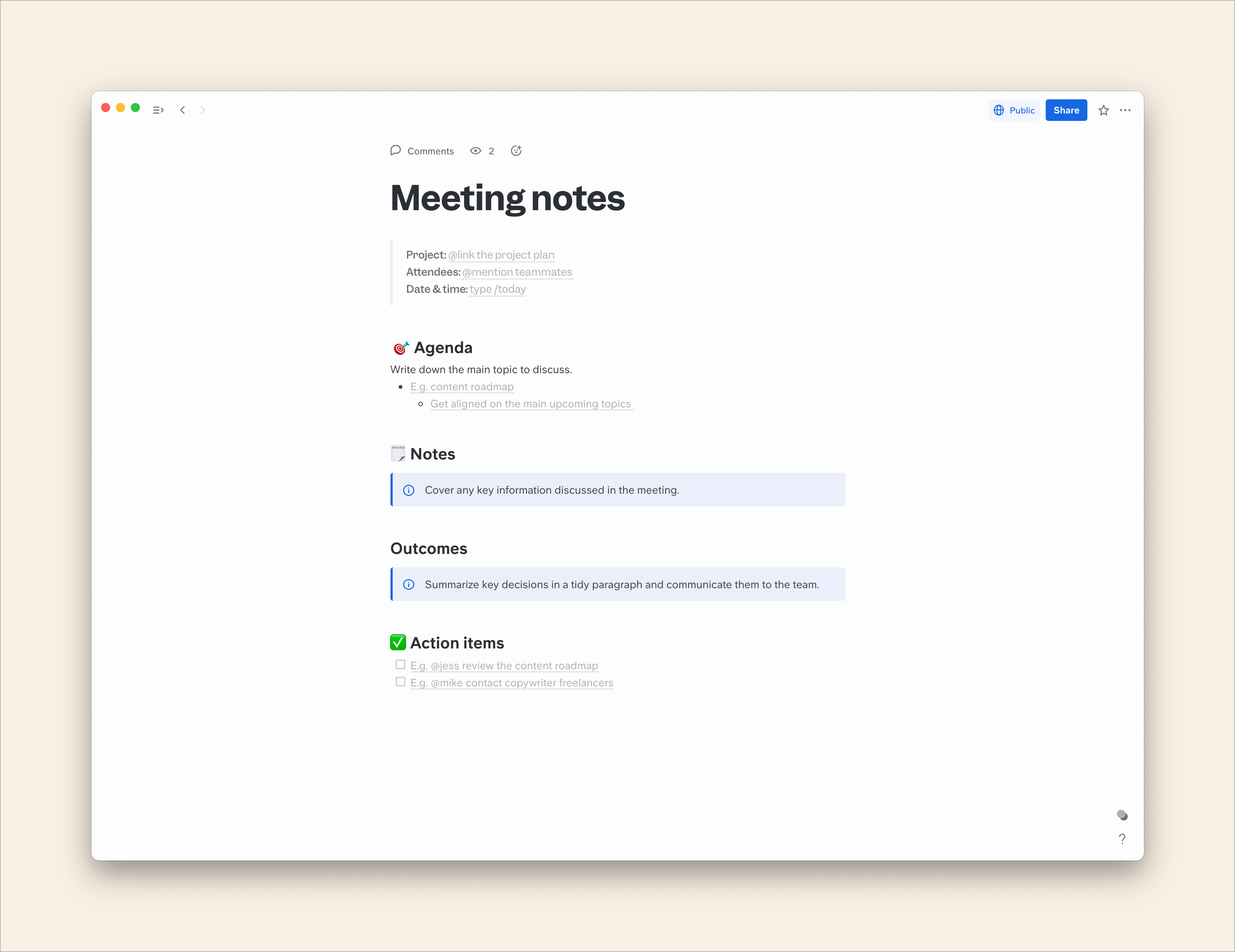 How to Take Helpful Meeting Minutes + Templates & Examples