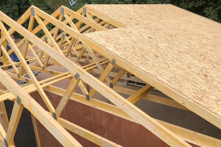 timber building construction