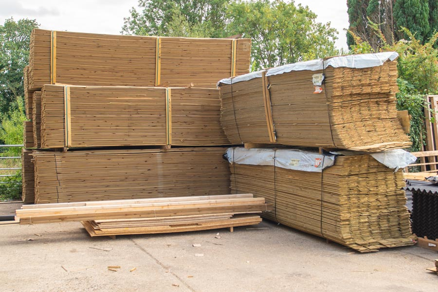 sustainably sourced timber