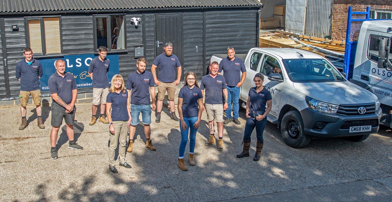 Olson Timber Buildings Team