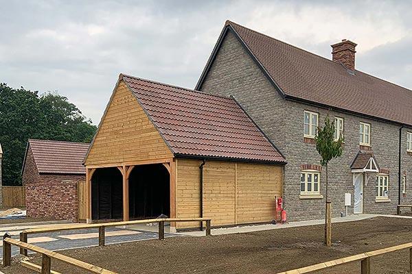 Olson timber buildings