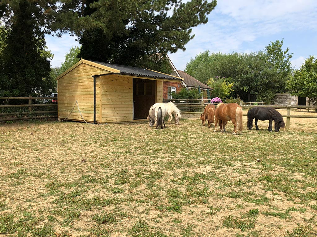 Going Mobile - Field Shelters and Stables