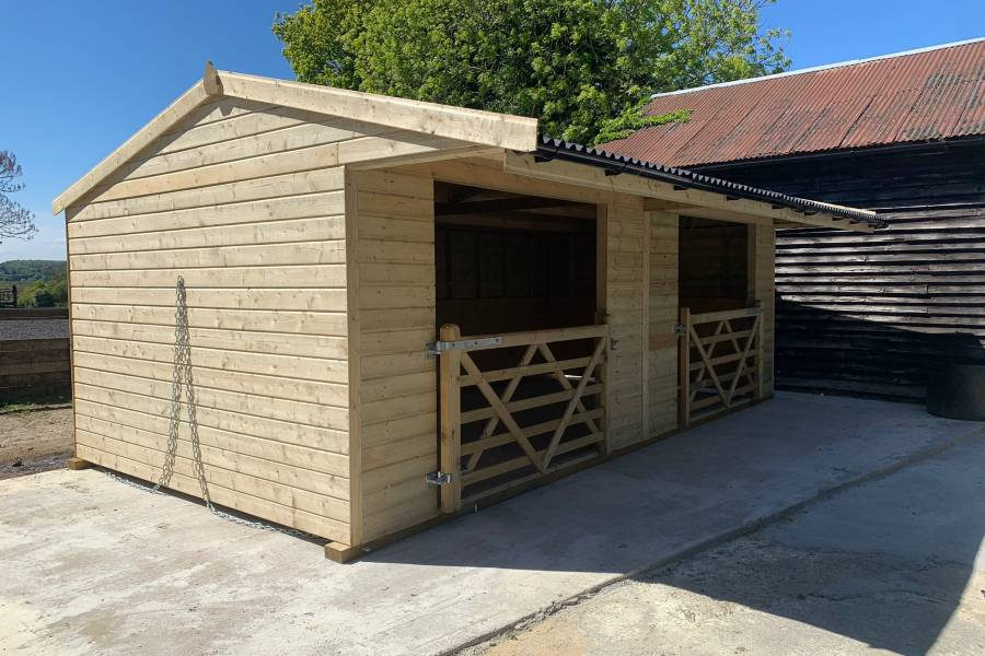 Timber 5 Bar Gate
