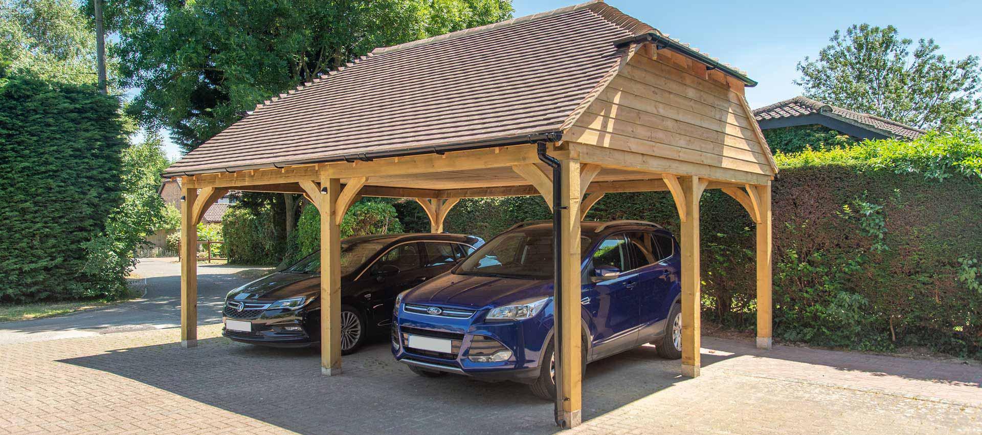 Case Study Bespoke Timber Carport
