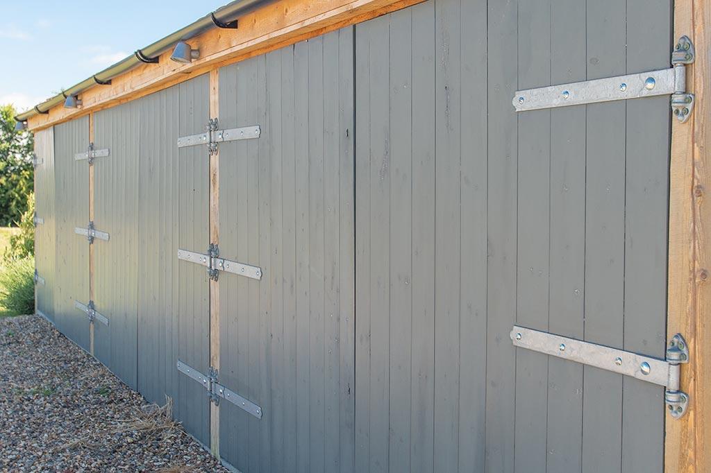 Oak Framed Timber Garages For Less.