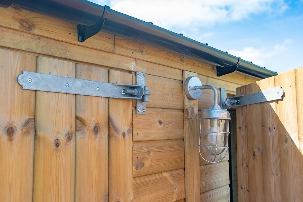 Timber Garage vs Block or Brick Garage