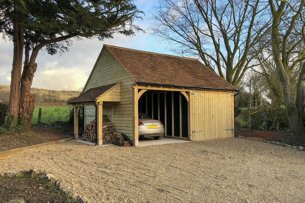 Oak Framed Garage or Timber Carriage House?