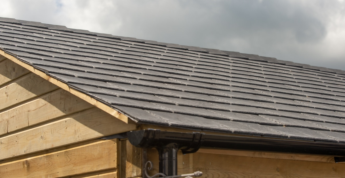 Tapco Slate for Timber Buildings - A new type of tile