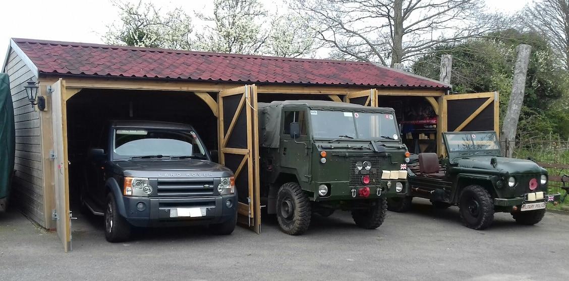 Tank Ready Timber Buildings