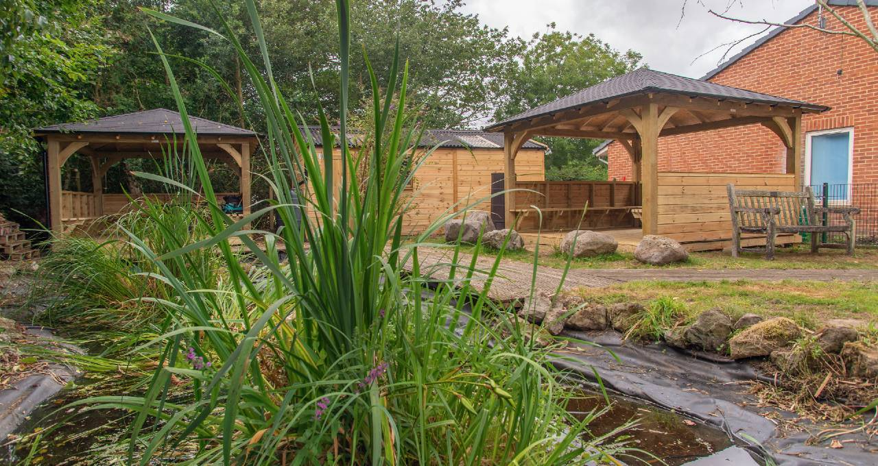 Outdoor Timber Classrooms & Socially Distanced Spaces